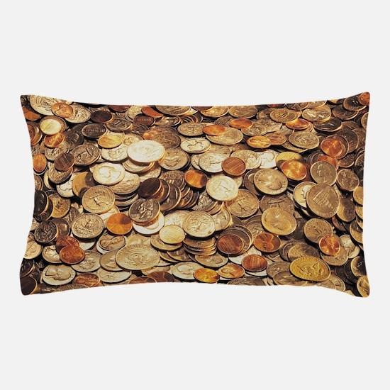 U.S. Coins Pillow Case