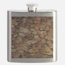 U.S. Coins Flask