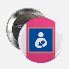 "Breastfeeding Symbol on Pi 2.25"" Button (100 pack)"