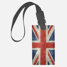 Vintage Union Jack flag Luggage Tag