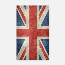 Vintage Union Jack flag Rectangle Car Magnet