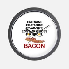 Cute Bacon eggs Wall Clock