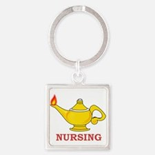 Nursing Lamp with Nursing Text Keychains