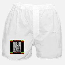 Haile Selassie I Jah Rastafari Boxer Shorts