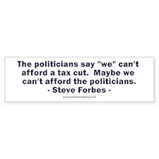 RightSpeak Steve Forbes Bumper Sticker