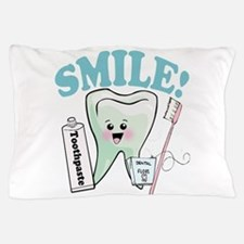 Smile Dentist Dental Hygiene Pillow Case