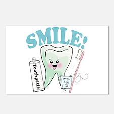 Smile Dentist Dental Hygi Postcards (Package of 8)