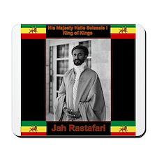 Haile Selassie I Jah Rastafari Mousepad