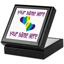 Rainbow Love Keepsake Box