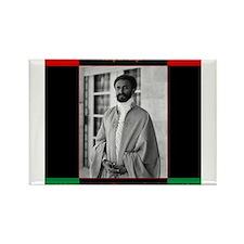 Haile Selassie I Jah Rastafari Magnets