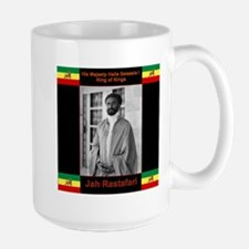 Haile Selassie I Jah Rastafari Mugs