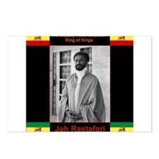 Haile Selassie I Jah Rast Postcards (Package of 8)