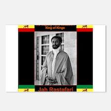 Haile Selassie I Jah Rast Postcards (Package of 8)
