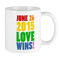 June 26 2016 Love Wins Mugs