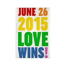 June 26 2016 Love Wins Magnets