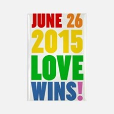 June 26 2016 Love Wins Magnets