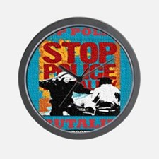 Stop_Police_Brutality_Occupy_the_Bronx Wall Clock
