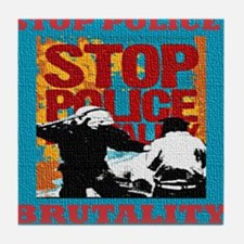 Stop_Police_Brutality_Occupy_the_Bron Tile Coaster