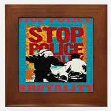 Stop_Police_Brutality_Occupy_the_Bronx Framed Tile