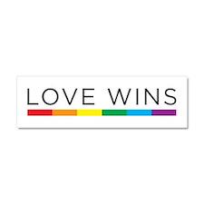 Love Wins Car Magnet 10 X 3