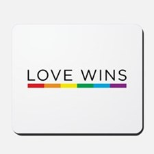 Love Wins Mousepad