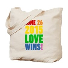 June 26 2016 Love Wins Tote Bag