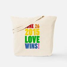 June 26 2016 Love Wins Tote Bag