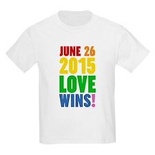 June 26 2016 Love Wins T-Shirt