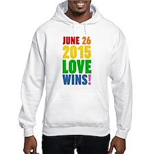 June 26 2016 Love Wins Hoodie