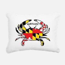 MARYLAND CRAB Rectangular Canvas Pillow