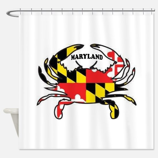 MARYLAND CRAB Shower Curtain