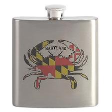 MARYLAND CRAB Flask