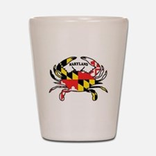 MARYLAND CRAB Shot Glass