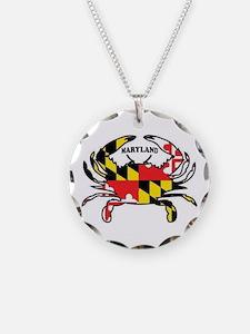 Maryland Crab Necklace
