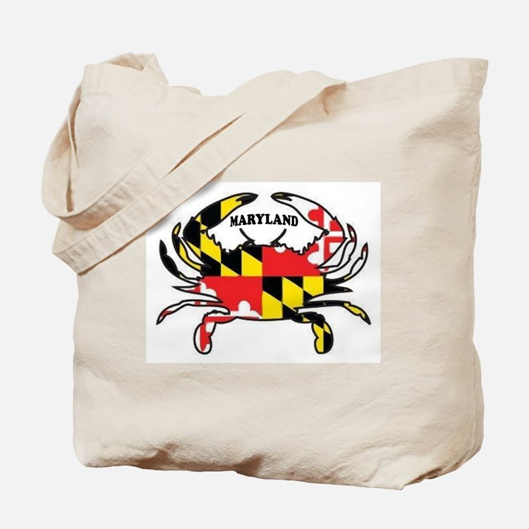 MARYLAND CRAB Tote Bag