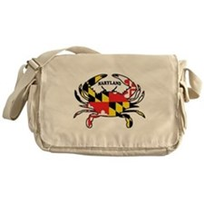 Maryland Crab Messenger Bag