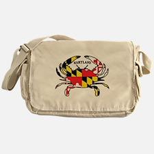 Maryland Crab Messenger Bag