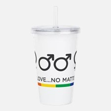 Love is Love Acrylic Double-wall Tumbler