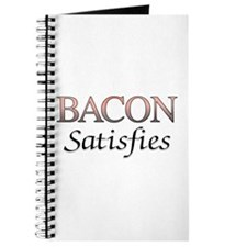 Bacon Satisfies Comic Book Style Journal