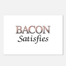 Bacon Satisfies Comic Boo Postcards (Package of 8)