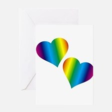 Rainbow Love Greeting Cards