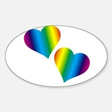 Rainbow Love Decal