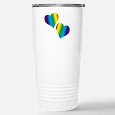 Rainbow Love Travel Mug