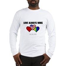 Love Always Wins Long Sleeve T-Shirt