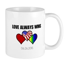 Love Always Wins Mugs