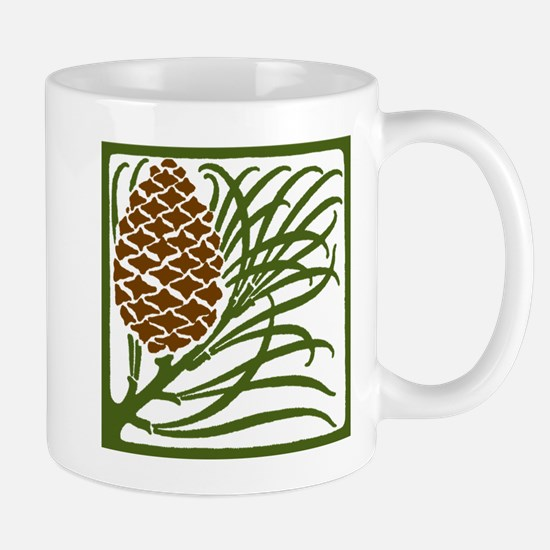 Giant Pine Cone Color Mugs
