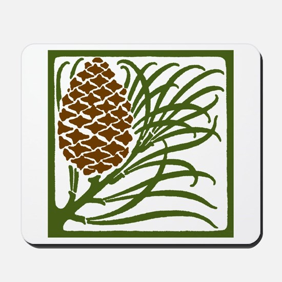 Giant Pine Cone Color Mousepad