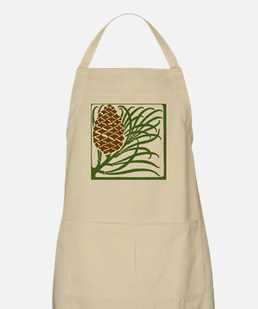 Giant Pine Cone Color Apron