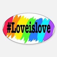 Love is Love Marriage Equality Decal