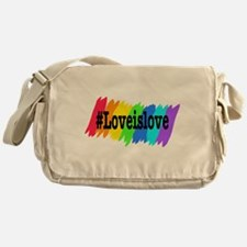 Love is Love Marriage Equality Messenger Bag